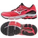 Mizuno Wave Inspire 12 Ladies Running Shoes-Pink-White-Black