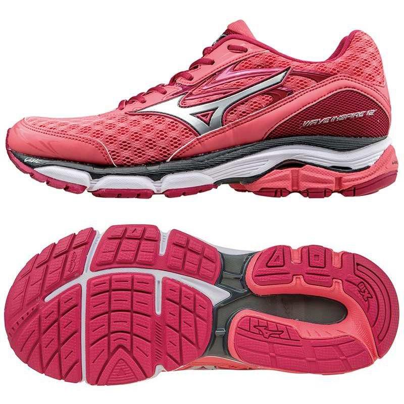 Mizuno Wave Inspire 12 Ladies Running Shoes Ss16