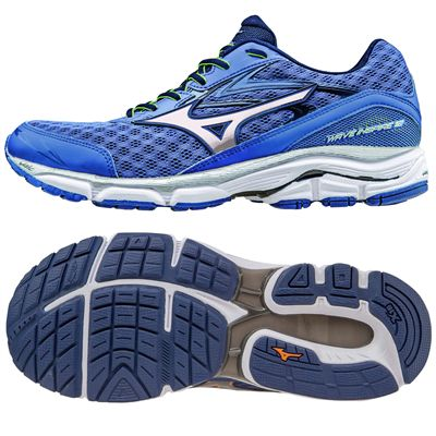 Mizuno Wave Inspire 12 Mens Running Shoes - Blue