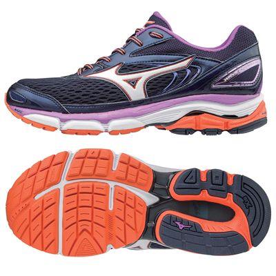 Mizuno Wave Inspire 13 Ladies Running Shoes AW17 - Navy