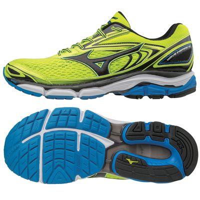 Mizuno Wave Inspire 13 Mens Running Shoes AW17 - Yellow