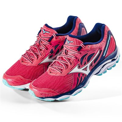 Mizuno Wave Inspire 14 Ladies Running Shoes AW18- Angled