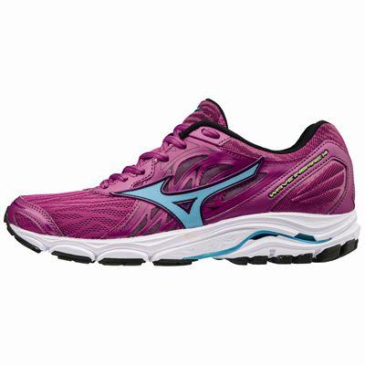 Mizuno Wave Inspire 14 Ladies Running Shoes - Pink - Side