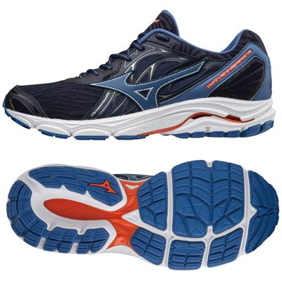 Mizuno Wave Inspire 14 Mens Running Shoes AW18 - Blue