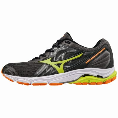Mizuno Wave Inspire 14 Mens Running Shoes - Black - Side