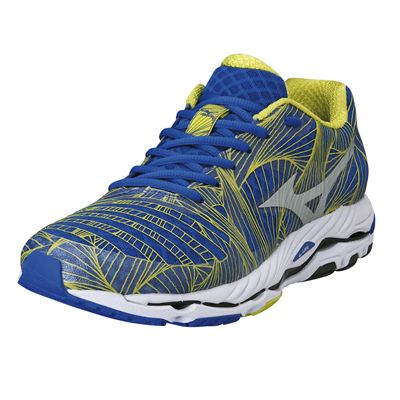 Mizuno Wave Paradox Mens Running Shoes 2014 - Blue/Yellow