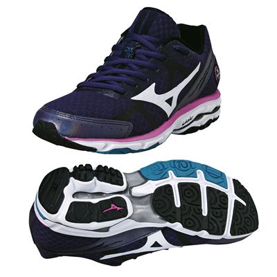 Mizuno Wave Rider 17 Ladies Running Shoes 2014