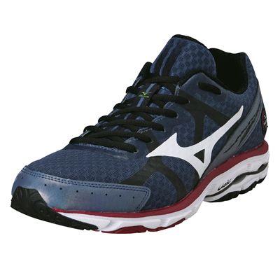 Mizuno Wave Rider 17 Mens Running Shoes 2014 - Indigo