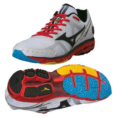 uk availability 98f63 df6b4 Mizuno Wave Rider 17 Mens Running Shoes 2013 - Sweatband.com