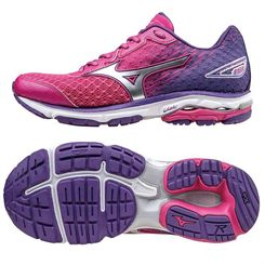 Mizuno Wave Rider 19 Ladies Running Shoes SS16