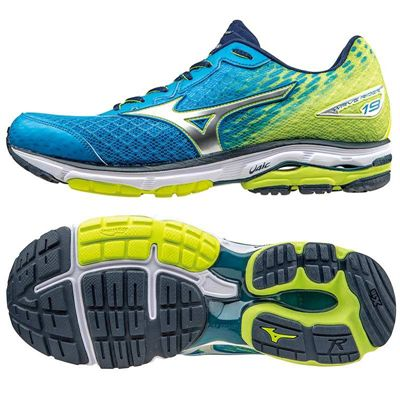 quality design 0d97e e8ed9 Mizuno Wave Rider 19 Mens Running Shoes SS16 - Sweatband.com