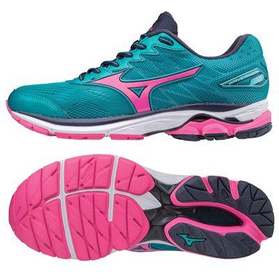 Mizuno Wave Rider 20 Ladies Running Shoes AW17