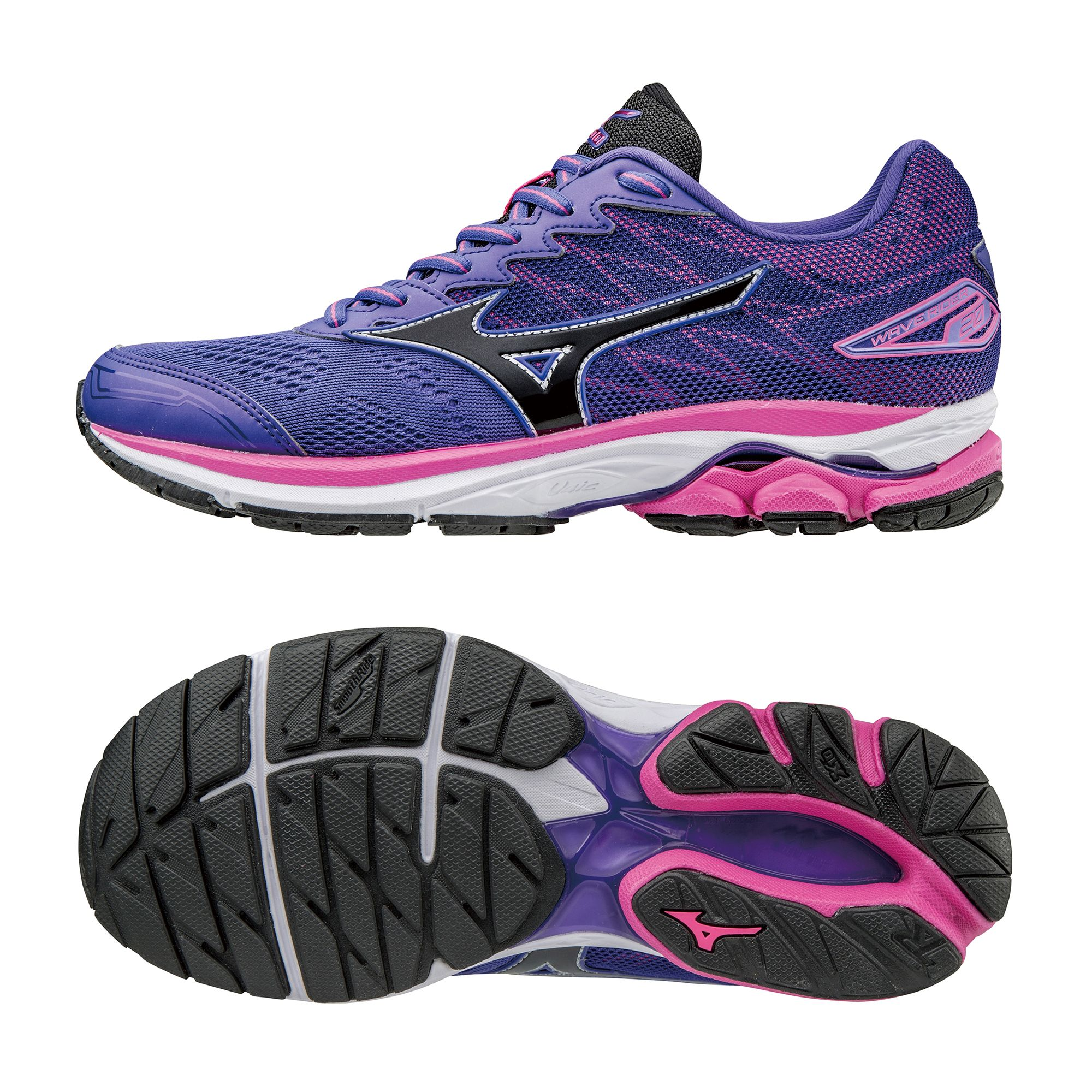 Mizuno Wave Rider  Ladies Running Shoes