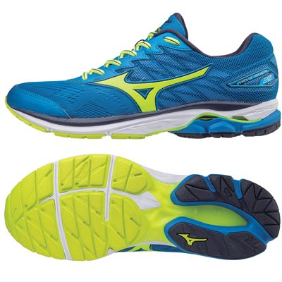 Mizuno Wave Rider 20 Mens Running Shoes AW17 - Blue -  Amazon