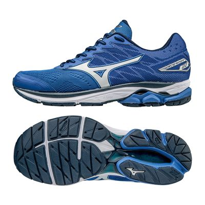 Mizuno Wave Rider 20 Mens Running Shoes-blwh