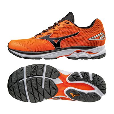 Mizuno Wave Rider 20 Mens Running Shoes-orbk
