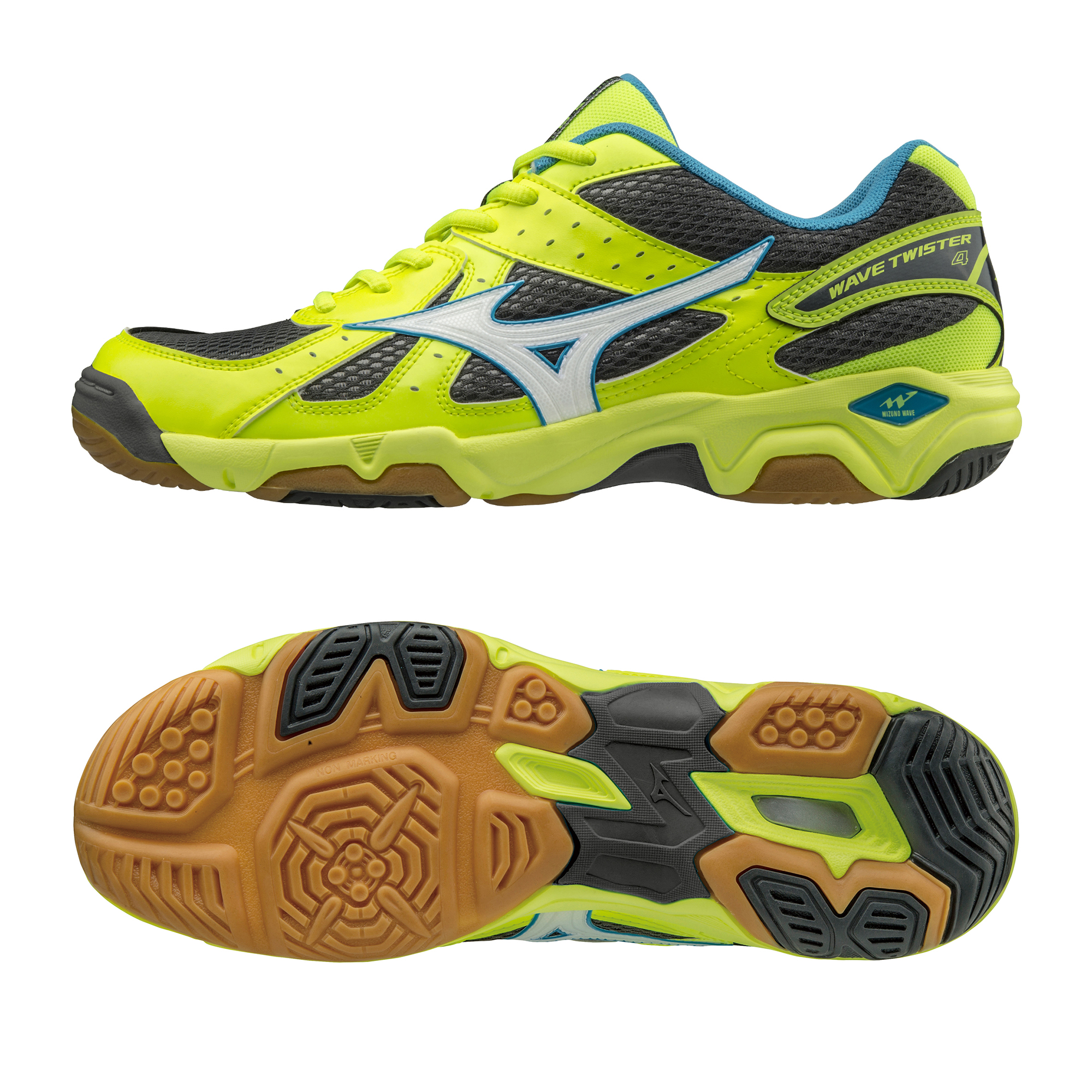 Mizuno Wave Twister 4 Mens Court Shoes  10.5 UK