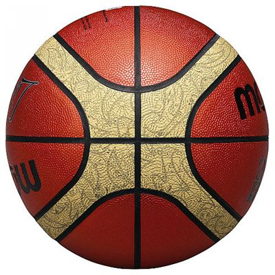 Molten 33 Libertria Official Match Basketball-Size 6-Side View