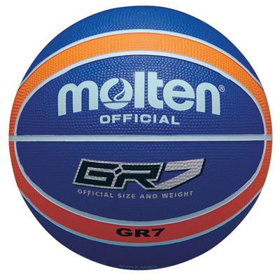 Molten BGR Coloured Basketball - Orange/Blue