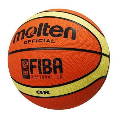 Molten BGR Series Rubber Basketballs