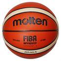 Molten GMX Parallel Pebble FIBA Leather Basketball-Size 6