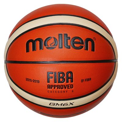 Molten GMX Parallel Pebble FIBA Leather Basketball-Size 6