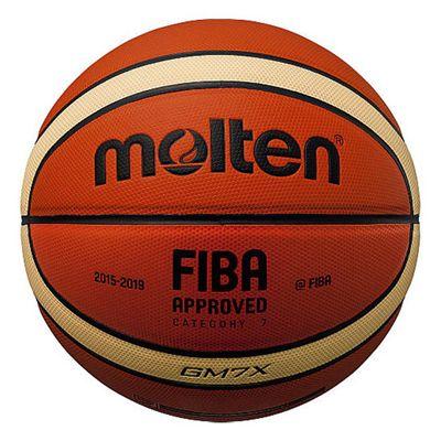 Molten GMX Parallel Pebble FIBA Leather Basketball-Size 7