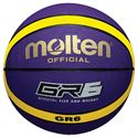 Molten GR Rubber Basketball - Purple