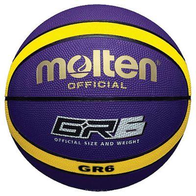 Molten GR Rubber Basketball - Purple