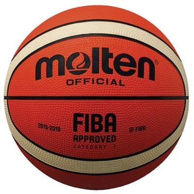 Molten MK2 FIBA Approved Rubber Basketball - Size 1