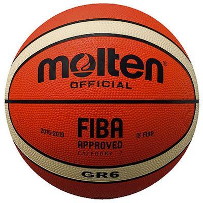 Molten MK2 FIBA Approved Rubber Basketball - 6