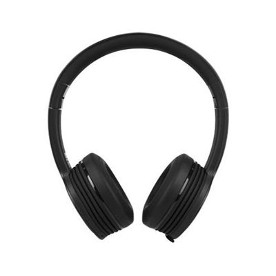 Monster iSport Freedom Wireless Bluetooth Sport Headphones - Black - front view