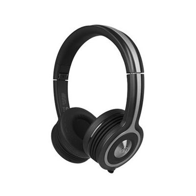 Monster iSport Freedom Wireless Bluetooth Sport Headphones - Black - side view
