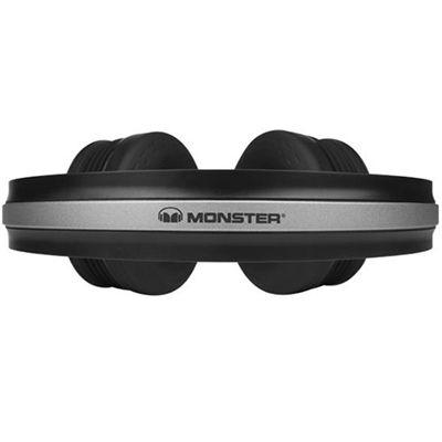 Monster iSport Freedom Wireless Bluetooth Sport Headphones - Black - top view