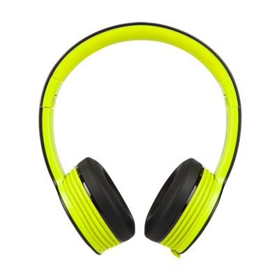 Monster iSport Freedom Wireless Bluetooth Sport Headphones - Green - side view