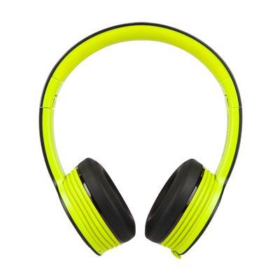 Monster iSport Freedom Wireless Bluetooth Sport Headphones - Green - side view