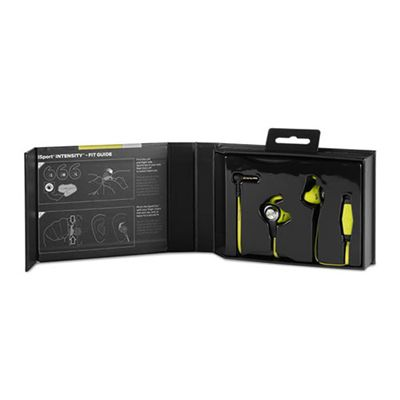 Monster iSport Intensity Sport Headphones - Green - Package