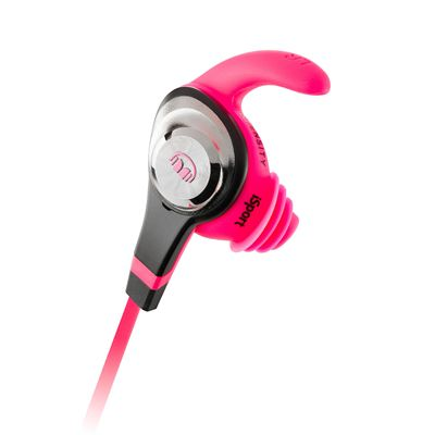 Monster iSport Intensity Sport Headphones - Pink - Secondary View