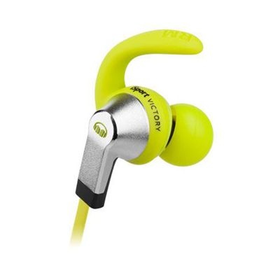 Monster iSport Victory Sport Headphones-Green-Close View