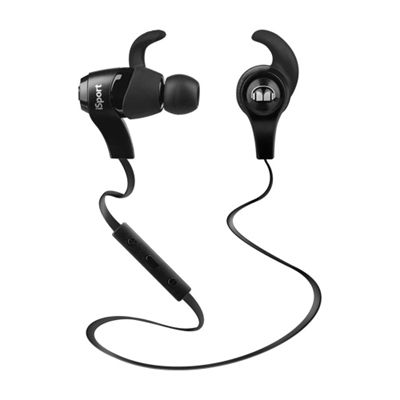 Monster iSport Wireless Bluetooth Sport Headphones-Black