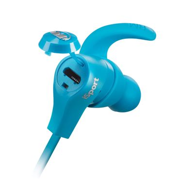Monster iSport Wireless Bluetooth Sport Headphones-Blue-1