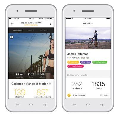 Moov Now Multi Sport Activity Tracker - App View 1