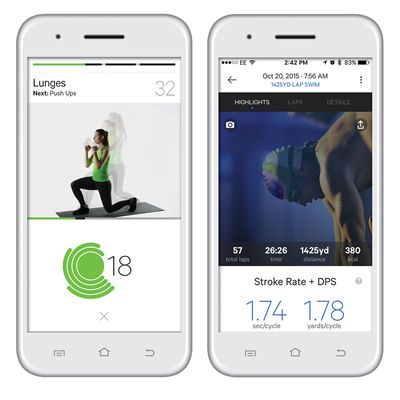 Moov Now Multi Sport Activity Tracker - App View 2