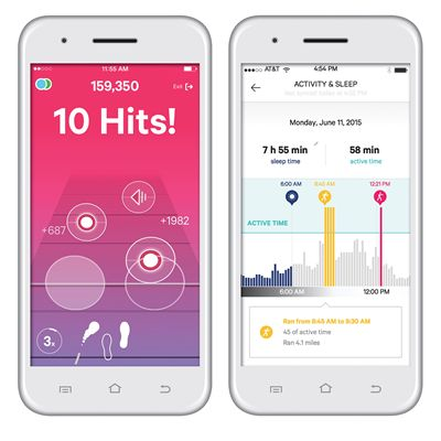 Moov Now Multi Sport Activity Tracker - App View 3