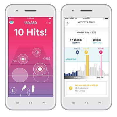 Moov Now Multi Sport Activity Tracker - App View 3