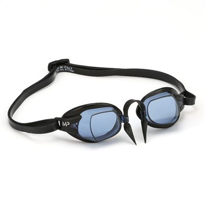 MP Michael Phelps Chronos Swimming Goggles - Black