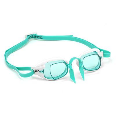 MP Michael Phelps Chronos Swimming Goggles - GreenWhite