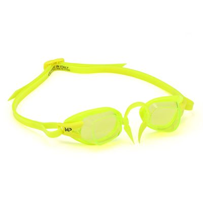 MP Michael Phelps Chronos Swimming Goggles - Lime