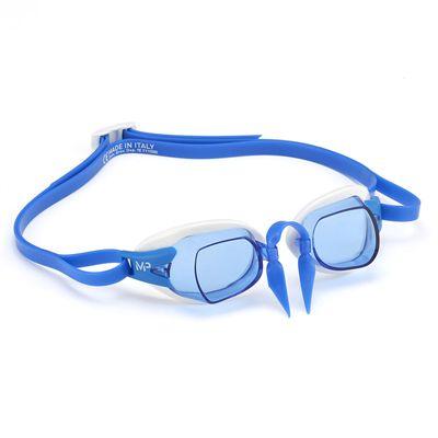 MP Michael Phelps Chronos Swimming Goggles - WhiteBlue