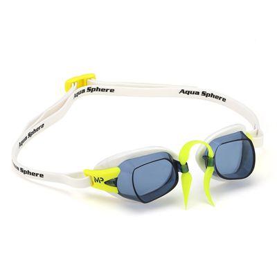 MP Michael Phelps Chronos Swimming Goggles - WhiteLime